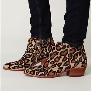 Sam Edelman Petty Leopard Print Booties